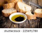 Bread With Olive Oil And...