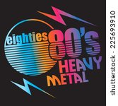 music typography  t shirt... | Shutterstock .eps vector #225693910