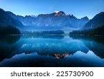 Laghi Di Fusine Mountain Lake...