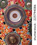 beautiful  mosaic art   Shutterstock . vector #225794086