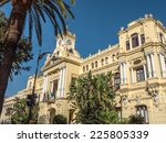 town hall palace in malaga ... | Shutterstock . vector #225805339