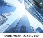buildings  low angle view | Shutterstock . vector #225817150