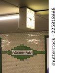 U Bahn  Subway  Station...