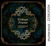 Elegant Vintage Frame With...