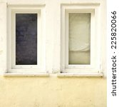 two old closed windows  in the... | Shutterstock . vector #225820066