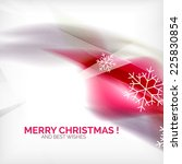 pink color christmas blurred... | Shutterstock .eps vector #225830854