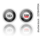 black friday label.vector | Shutterstock .eps vector #225849904