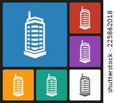 building icon | Shutterstock .eps vector #225862018