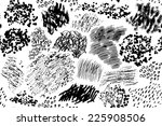 pattern consisting of hand... | Shutterstock .eps vector #225908506