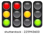 traffic light  traffic light... | Shutterstock .eps vector #225943603