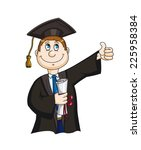 Student With Diploma...