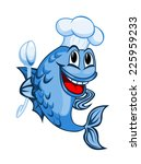 chef fish | Shutterstock .eps vector #225959233
