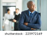 relaxed african american... | Shutterstock . vector #225972169