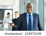 handsome young african american ... | Shutterstock . vector #225972190