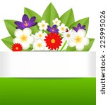 background for a design with... | Shutterstock .eps vector #225995026