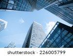 windows of skyscraper business...   Shutterstock . vector #226005799