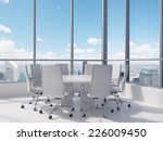 conference room. modern office... | Shutterstock . vector #226009450