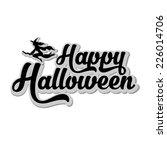 happy halloween background | Shutterstock .eps vector #226014706