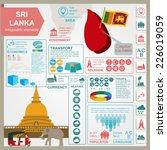 sri lanka  infographics ... | Shutterstock .eps vector #226019059