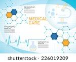 medical infographic | Shutterstock .eps vector #226019209