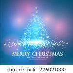 christmas tree. vector... | Shutterstock .eps vector #226021000