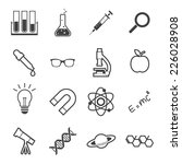 science icon | Shutterstock .eps vector #226028908