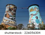 soweto  south africa  ... | Shutterstock . vector #226056304