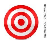 red target. 3d illustration... | Shutterstock . vector #226079488