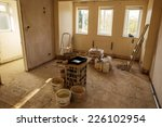walls and ceiling being... | Shutterstock . vector #226102954