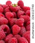 fresh raspberry isolated on... | Shutterstock . vector #226112740
