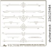 vector decorative elements for...