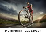 sport. road cyclist. | Shutterstock . vector #226129189