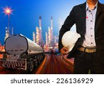 engineering man with safety... | Shutterstock . vector #226136929