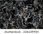 marble texture black and white | Shutterstock . vector #226139554