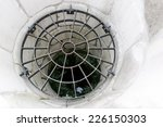 a grid on a water well. | Shutterstock . vector #226150303