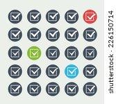 set of twenty five different... | Shutterstock . vector #226150714