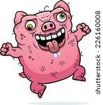 a cartoon illustration of an...   Shutterstock .eps vector #226160008