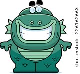 a cartoon illustration of a... | Shutterstock .eps vector #226162663