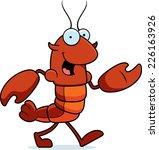 a cartoon illustration of a... | Shutterstock .eps vector #226163926
