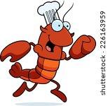 a cartoon illustration of a... | Shutterstock .eps vector #226163959