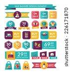 baby sale banner design flat... | Shutterstock .eps vector #226171870