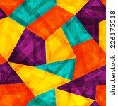 bright mosaic seamless pattern... | Shutterstock . vector #226175518