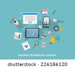 business strategy concepts  | Shutterstock . vector #226186120