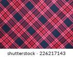 tartan fabric pattern | Shutterstock . vector #226217143