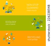 ecology recycling waste... | Shutterstock .eps vector #226238548