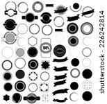 mega set of design elements for ... | Shutterstock .eps vector #226242814