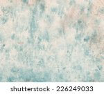 abstract painted watercolor... | Shutterstock . vector #226249033