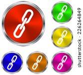 link  single icon   vector...   Shutterstock .eps vector #226264849