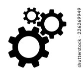 cogwheel gear mechanism vector... | Shutterstock .eps vector #226269949