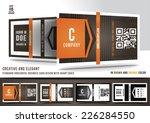 creative and elegant business... | Shutterstock .eps vector #226284550
